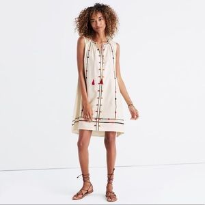 Madewell Sunview Embroidered Dress size XS